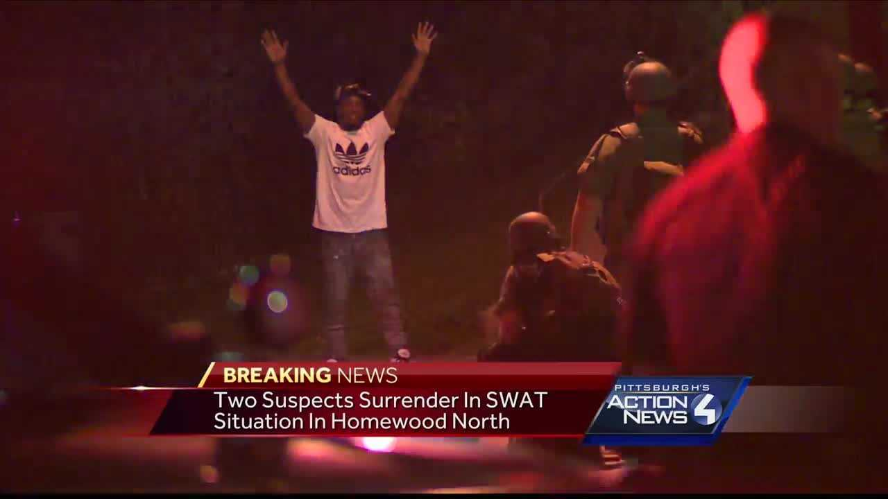 img-2 surrender to attorneys general office after standoff in Homewood North