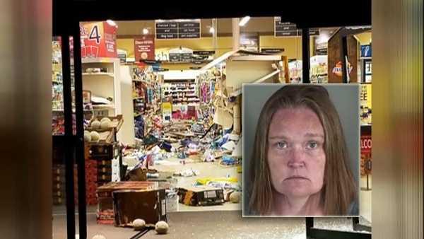 grocery store damage mug shot