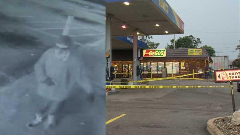 Rostraver CoGo's shooting scene, surveillance image
