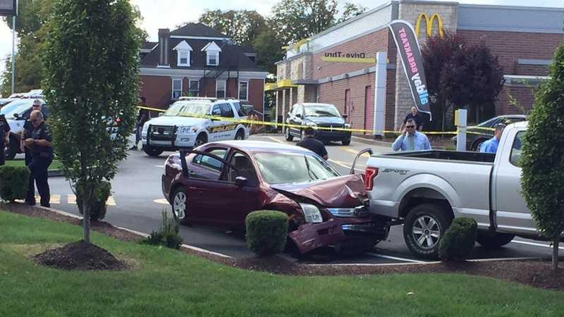 Knoxville McDonald's crash 1