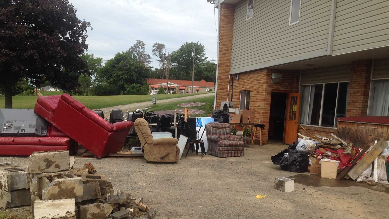 Connellsville church cleanup