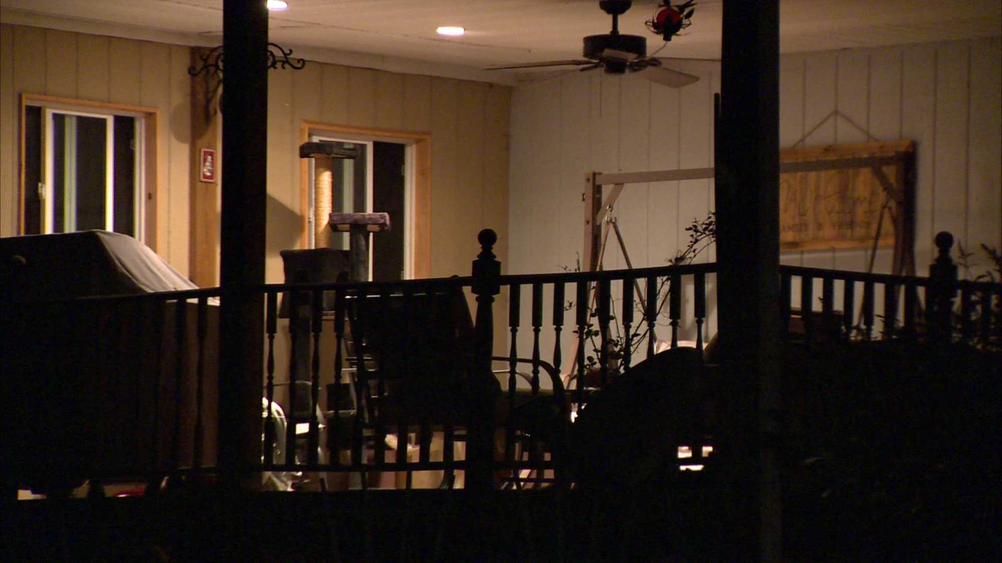 Penn Township shooting scene