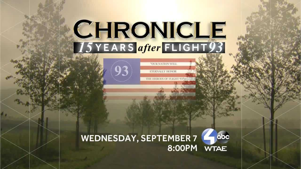 Chronicle Flight 93 cover shot with date