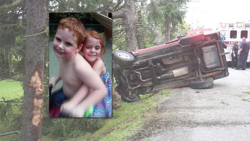 Isaac Thomas crash inset