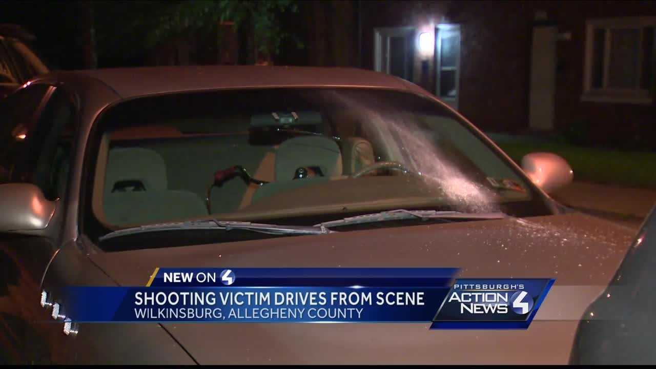 Victim drives on flat tire to escape Wilkinsburg shooting