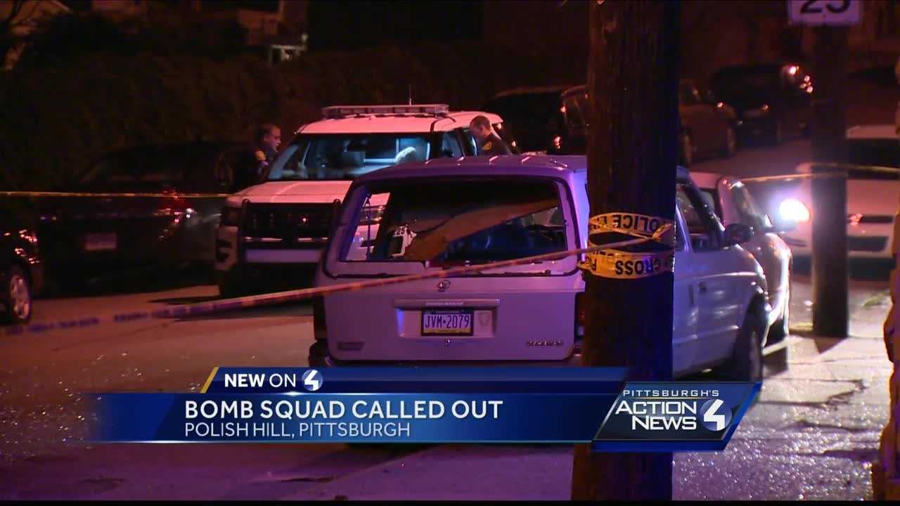 Bomb squad called to Pittsburgh's Polish Hill neighborhood