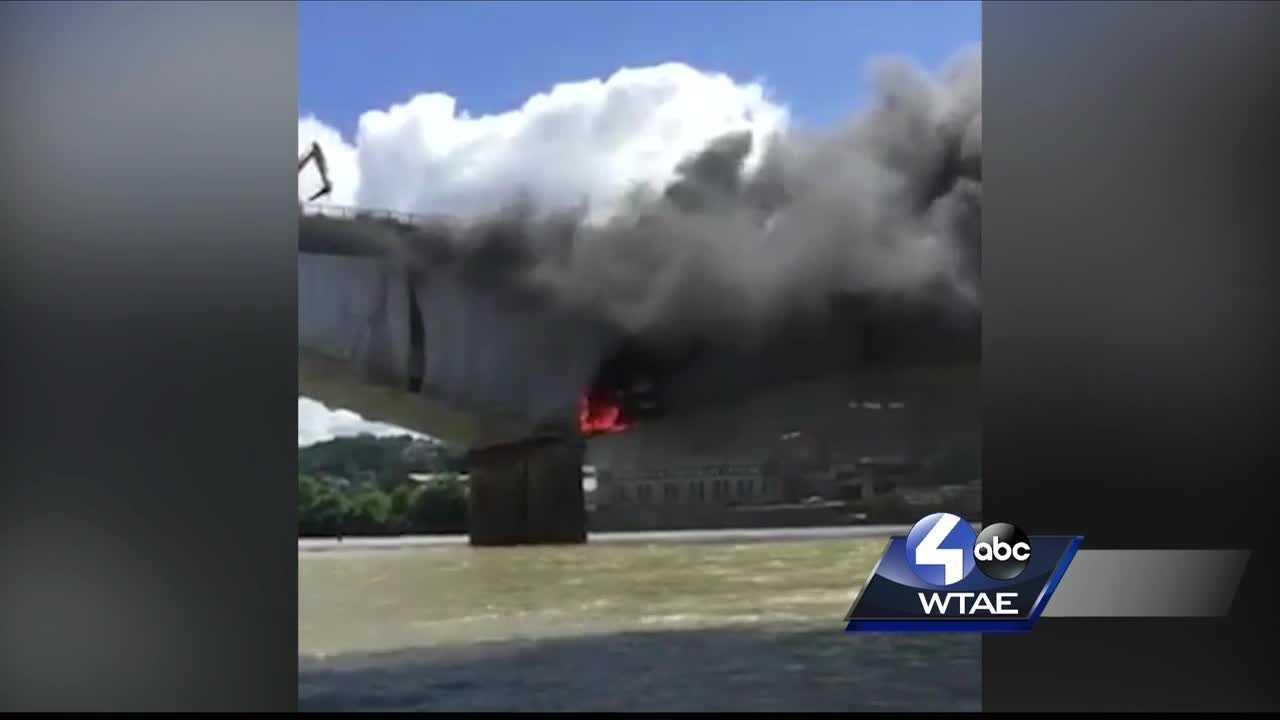 Liberty Bridge fire