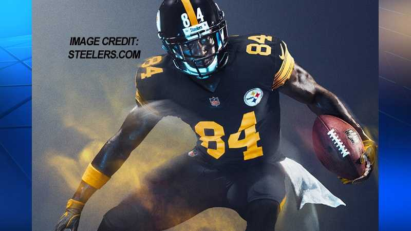 Steelers debut 'Color Rush' uniform preview