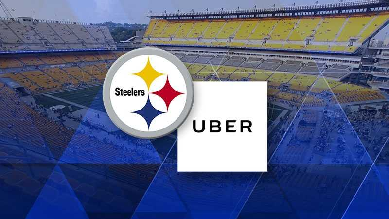 Uber Steelers team up