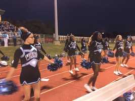 Woodland Hills cheer