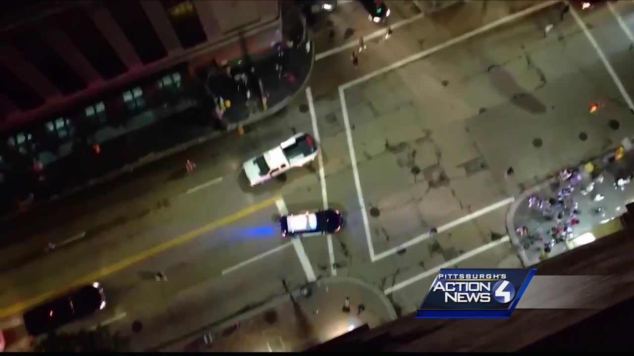 Teen boy arrested in July 4th shooting in downtown Pittsburgh