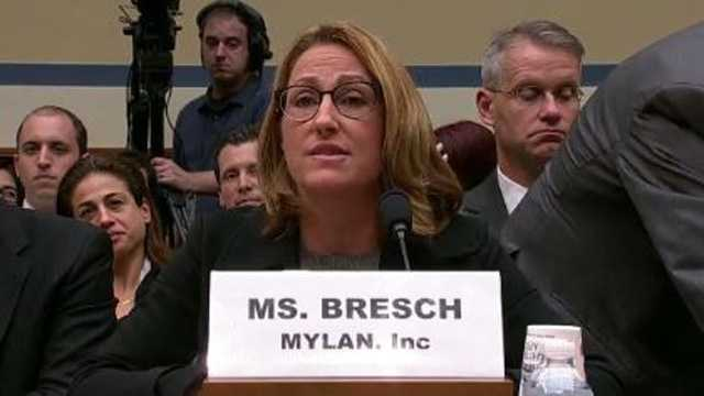 Heather Bresch Mylan CEO