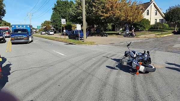 Brackenridge motorcycle crash