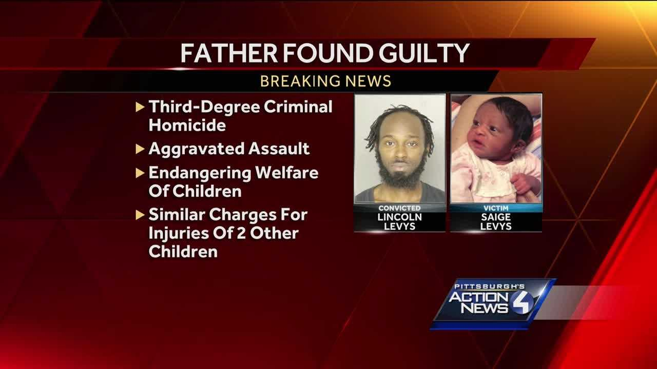 Father guilty of murdering daughter