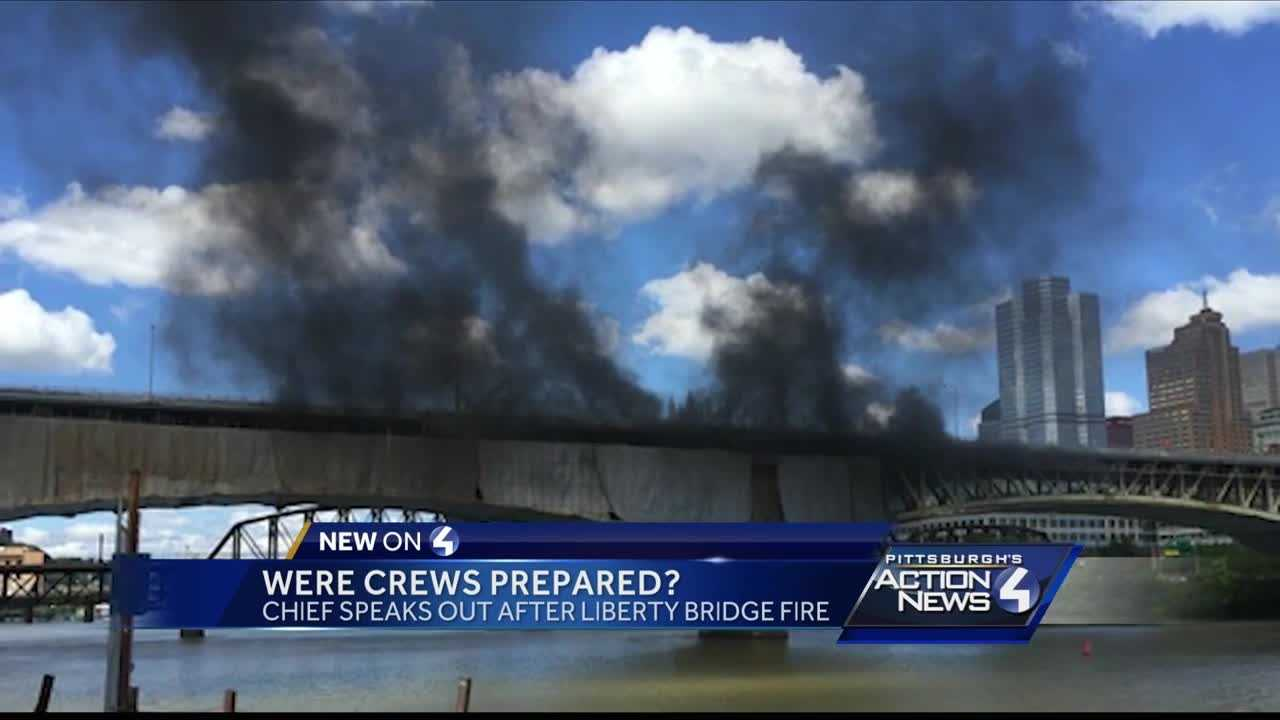 Pittsburgh fire chief criticizes Liberty Bridge contractor