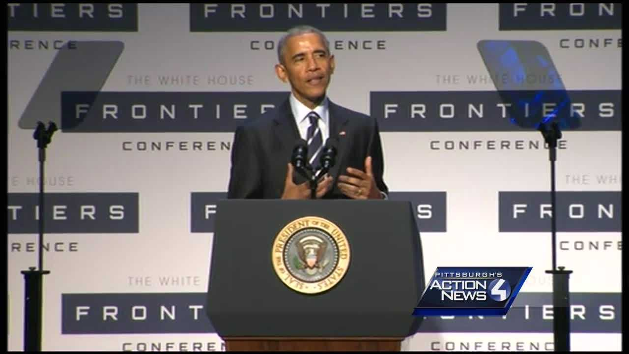 Obama at Frontiers Conference