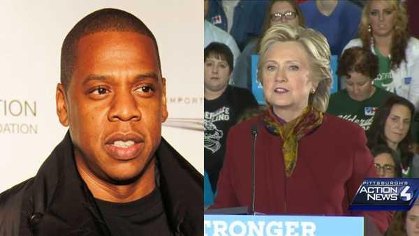 Hillary Clinton, Jay Z