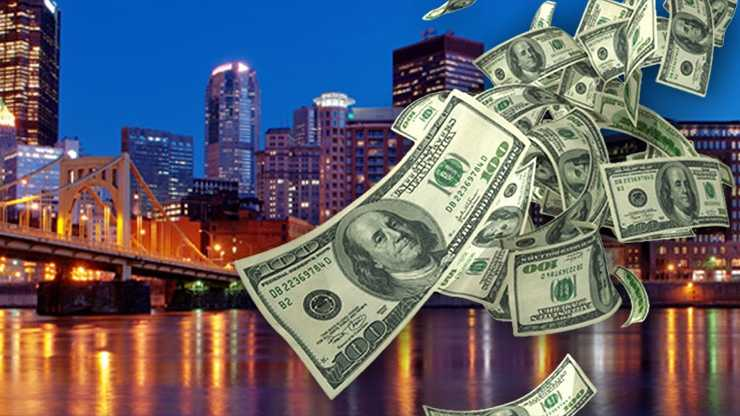 Pittsburgh skyline money