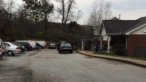 Cherryhill Township homicide scene