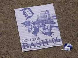 "The dance had been promoted as ""College Bash '06."""