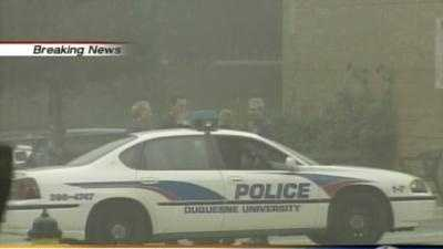 Duquesne University police car