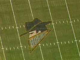 Gotham City Rogues logo at Heinz Field