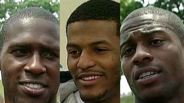 Antonio Brown - Mike Wallace - Emmanuel Sanders