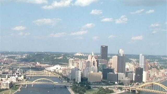 Downtown Pittsburgh Golden Triangle - 28526260