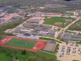 Gateway High School campus in Monroeville