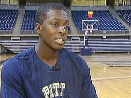 Pitt senior guard Tray Woodall
