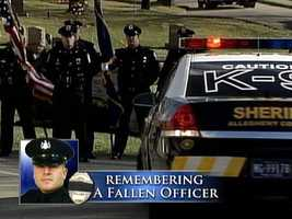12 OFFICER FUNERAL