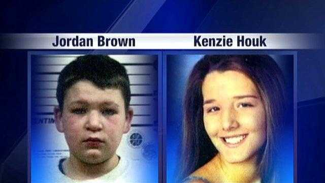 Jordan Brown and Kenzie Houk