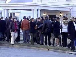Kenzie Houk's funeral