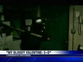 """My Bloody Valentine 3D"" (2009) - The crazed miner wreaks havoc with his bloody pickaxe in this remake of the 1981 Canadian slasher film."