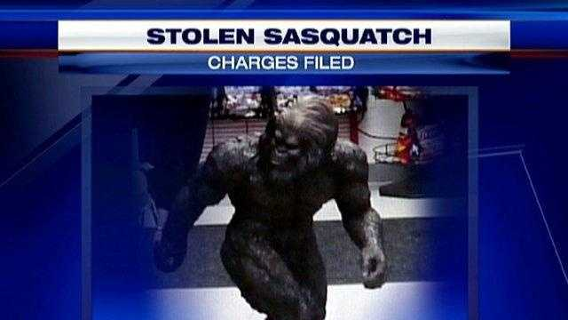 missing bigfoot statue