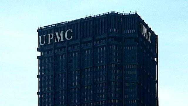 UPMC sign on U.S. Steel Tower