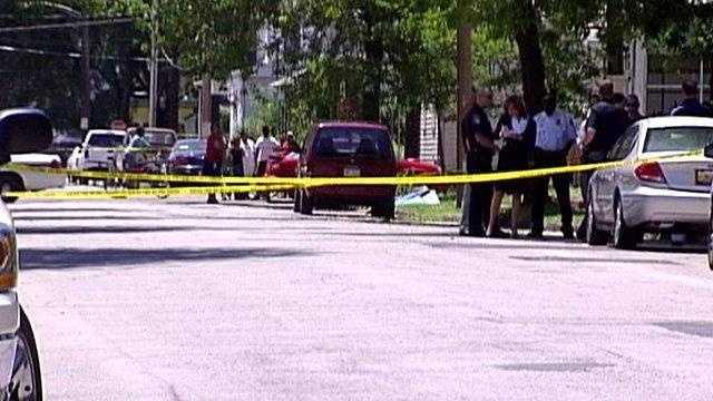 Harper murder scene