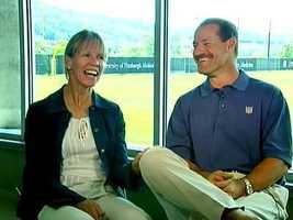 Cowher and his late wife, Kaye, a former basketball star at North Carolina State.