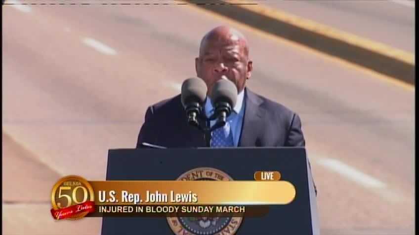 Selma: U.S. Rep. John Lewis