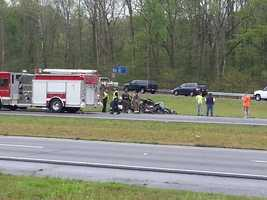 Second wreck on I-59 NB
