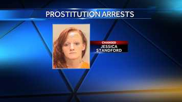 Jessica Nicole Stanford, 21, of Gadsden, was charged with second-degree promoting prostitution, and was held pending $2,500 bond.