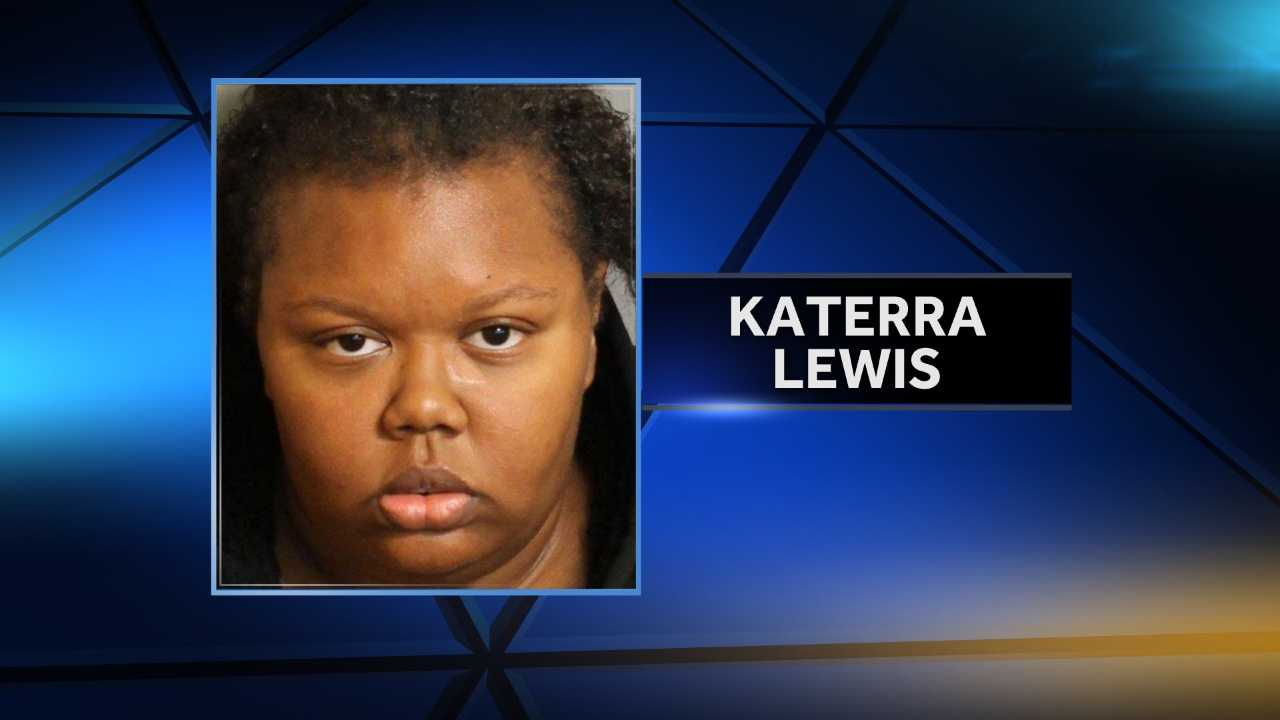 Katerra Lewis is charged with manslaughter in the death of her 1-year-old daughter. An 8-year-old is charged with the child's murder.