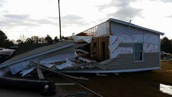 Pickens County storm damage