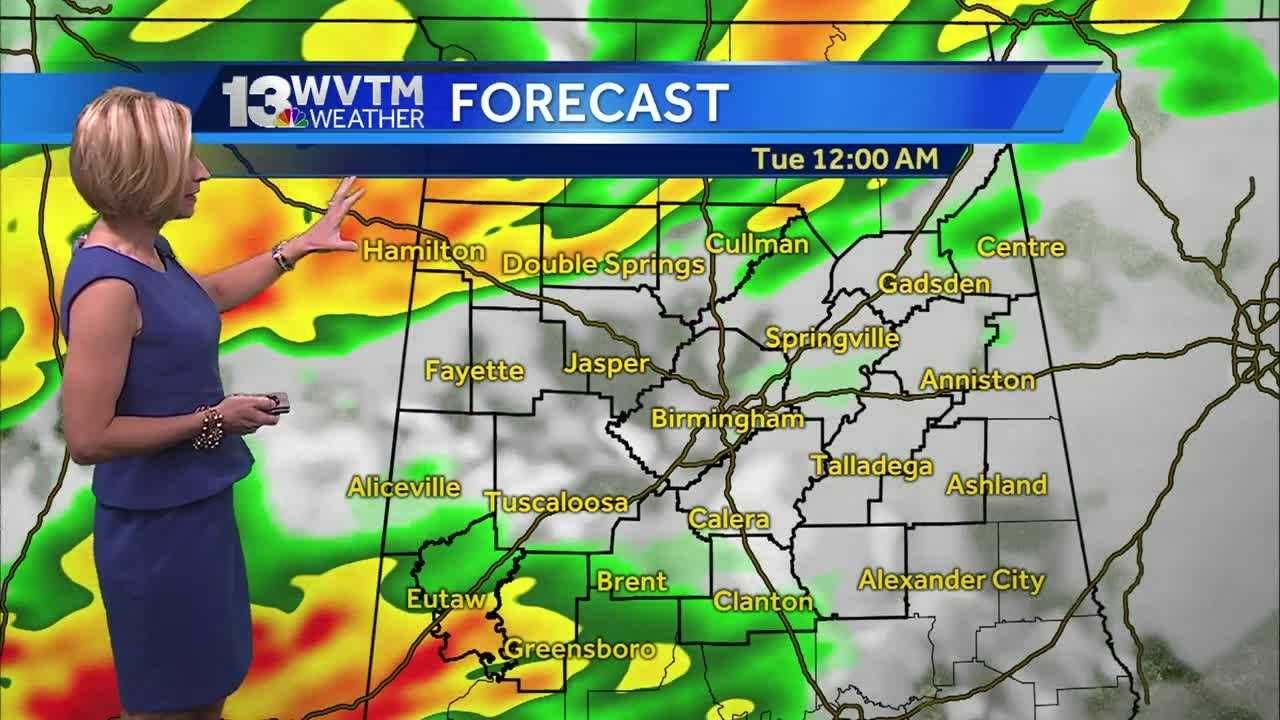 Meteorologist Stephanie Walker has the latest on your forecast