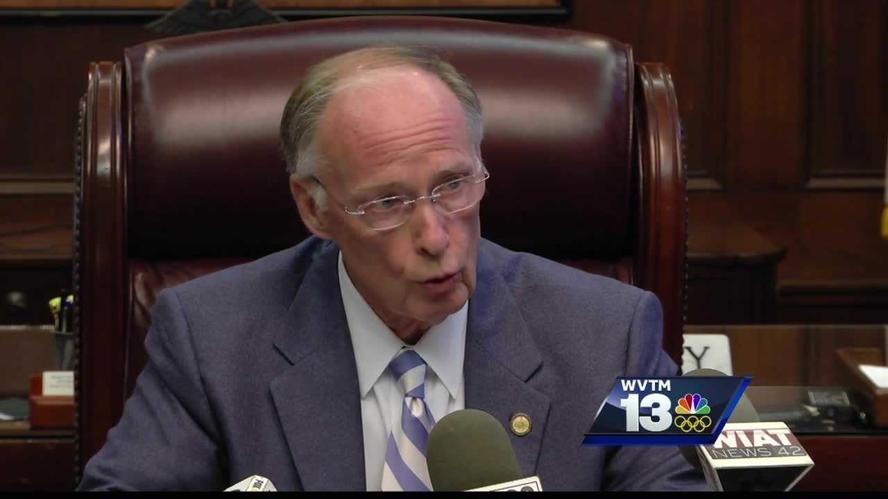 Gov. Bentley talks about education, prisons, and impeachment efforts