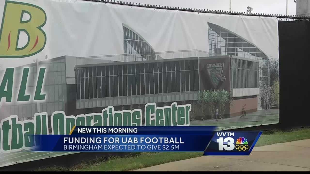 UAB football funding