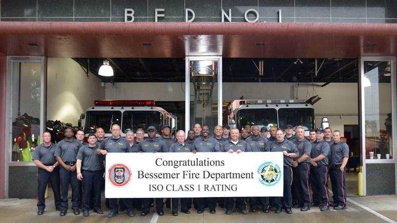 Bessemer gets top fire protection rating