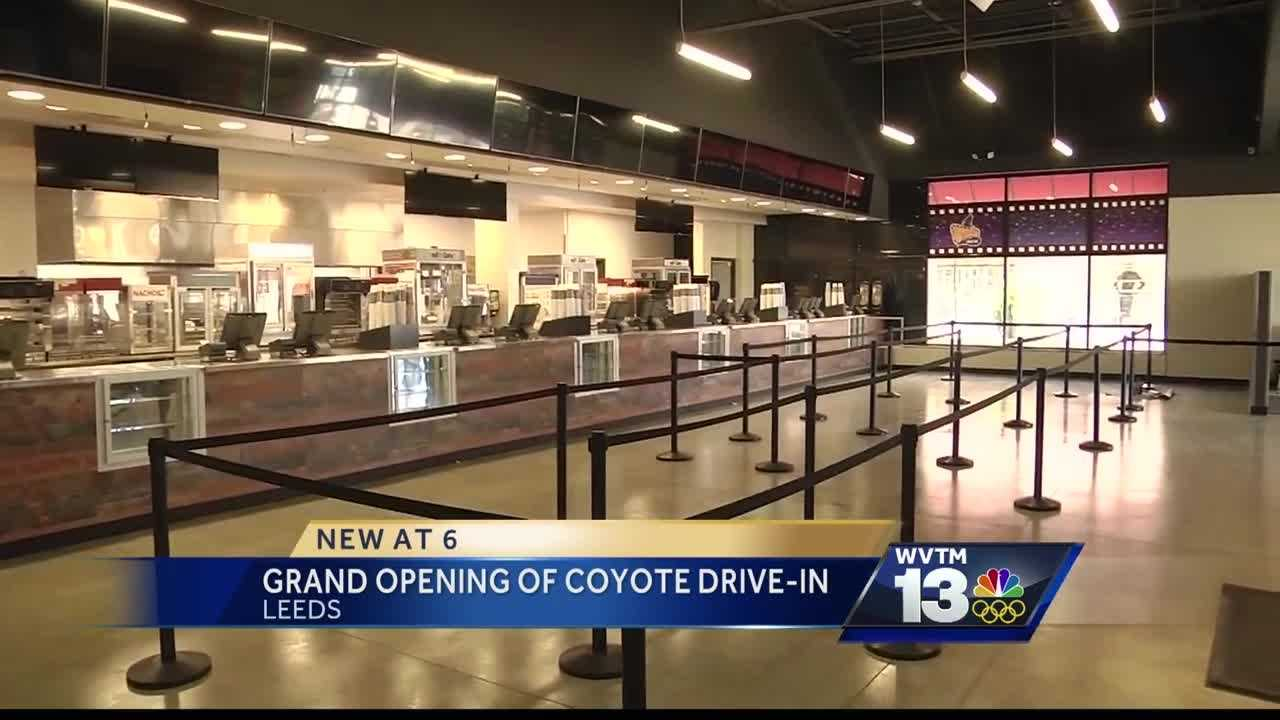 Coyote Drive-In theater grand opening