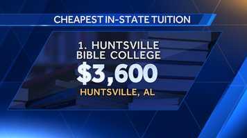 1. Huntsville Bible College