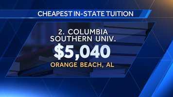 2. Columbia Southern University